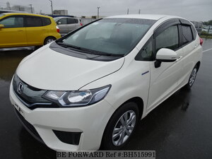 Used 2014 HONDA FIT HYBRID BH515991 for Sale