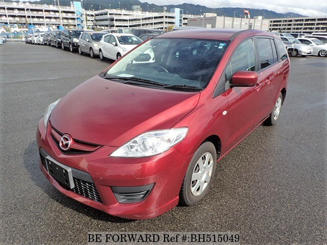 Used 2009 MAZDA PREMACY BH515049 for Sale