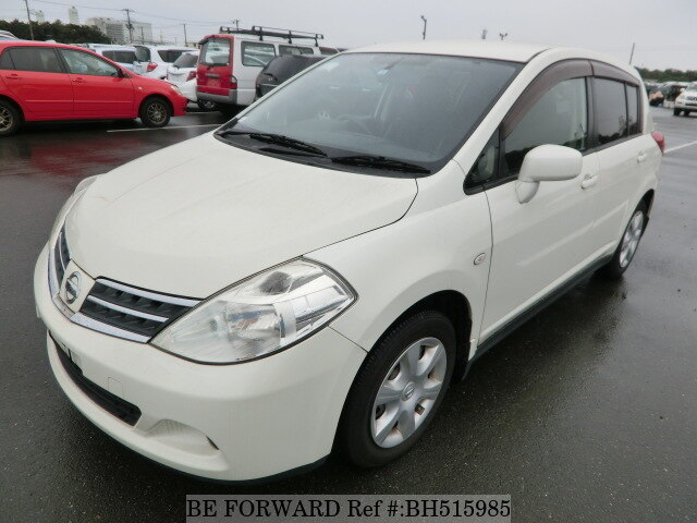 Used 2008 NISSAN TIIDA BH515985 for Sale
