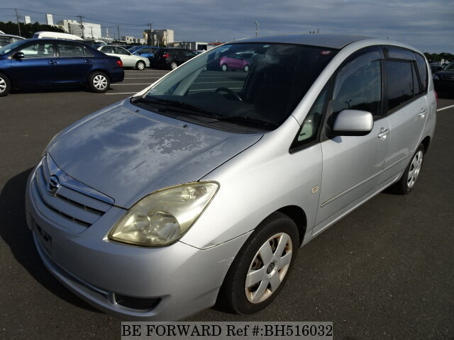 Used 2004 TOYOTA COROLLA SPACIO BH516032 for Sale