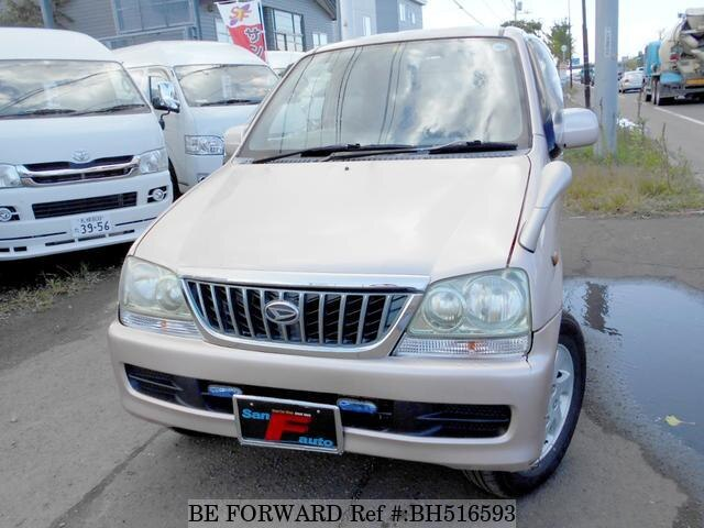 Used 2002 DAIHATSU TERIOS LUCIA BH516593 for Sale