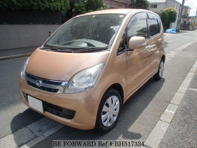 Used 2008 DAIHATSU MOVE BH517334 for Sale