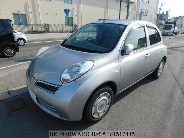 Used 2009 NISSAN MARCH BH517445 for Sale