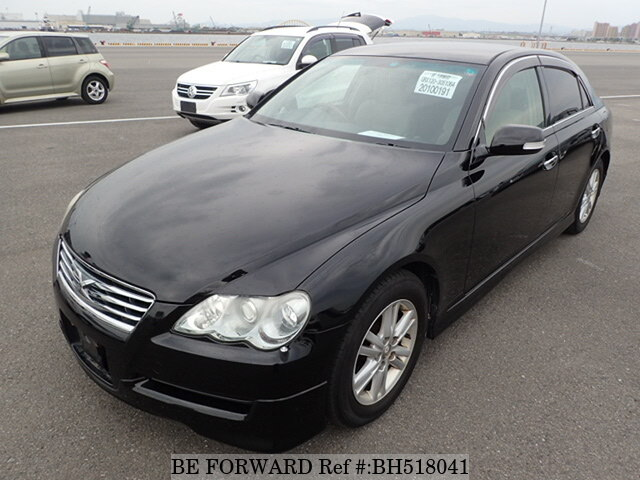 Used 2007 TOYOTA MARK X BH518041 for Sale