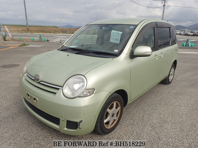 Used 2009 TOYOTA SIENTA BH518229 for Sale