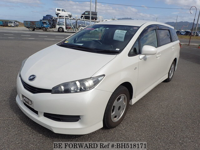 Used 2012 TOYOTA WISH BH518171 for Sale
