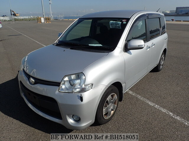 Used 2011 TOYOTA SIENTA BH518051 for Sale