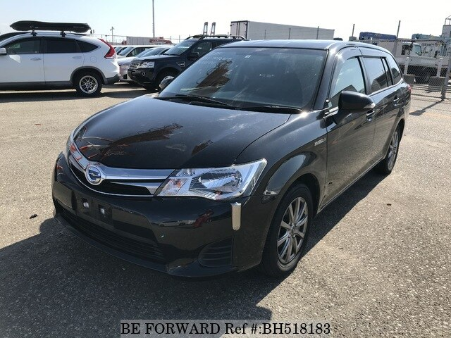 Used 2014 TOYOTA COROLLA FIELDER BH518183 for Sale