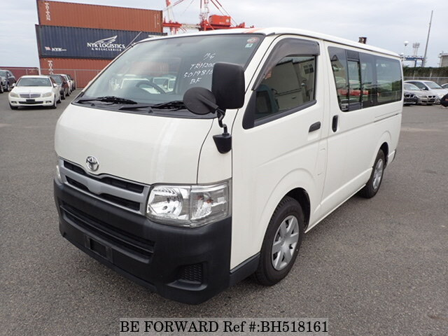 Used 2013 TOYOTA HIACE VAN BH518161 for Sale