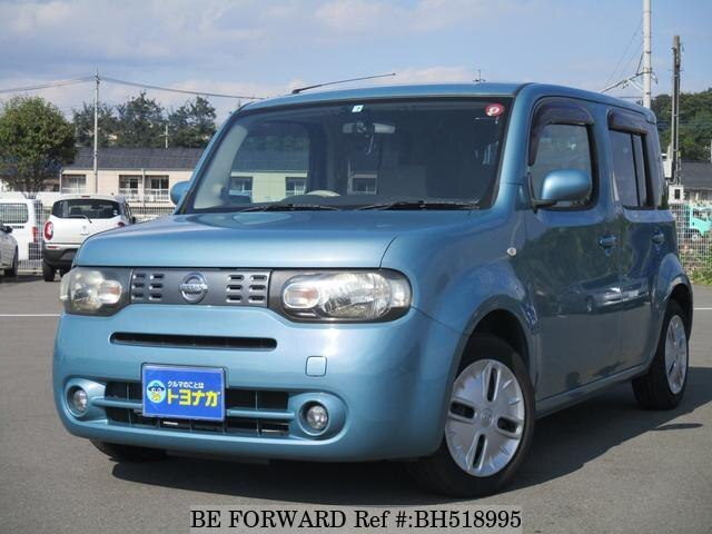 Used 2010 NISSAN CUBE BH518995 for Sale