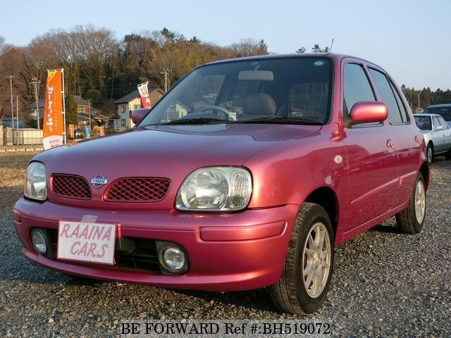 Used 2001 NISSAN MARCH BH519072 for Sale