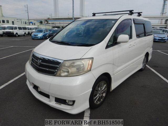 Used 2003 TOYOTA ALPHARD BH518504 for Sale