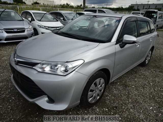 Used 2015 TOYOTA COROLLA FIELDER BH518352 for Sale