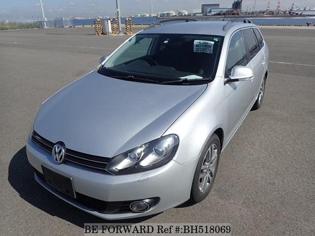 Used 2009 VOLKSWAGEN GOLF VARIANT BH518069 for Sale