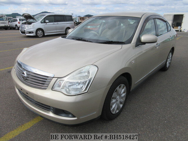 Used 2007 NISSAN BLUEBIRD SYLPHY BH518427 for Sale