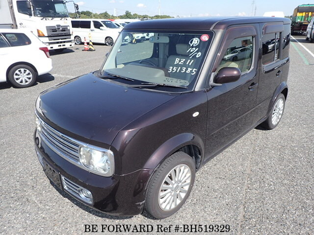 Used 2008 NISSAN CUBE BH519329 for Sale