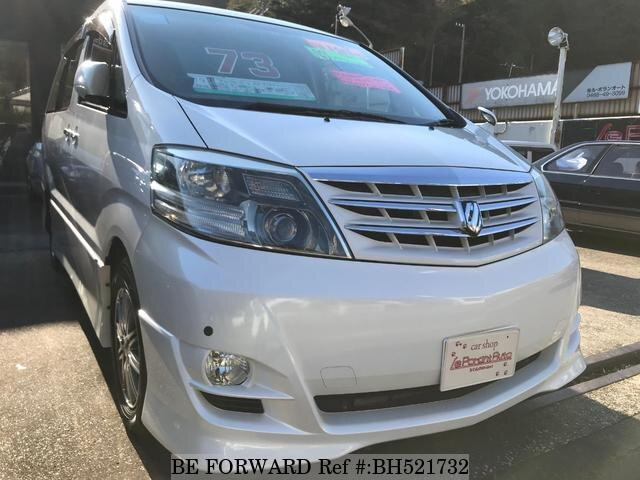 Used 2006 TOYOTA ALPHARD BH521732 for Sale