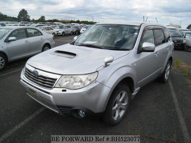 Used 2008 SUBARU FORESTER BH523077 for Sale