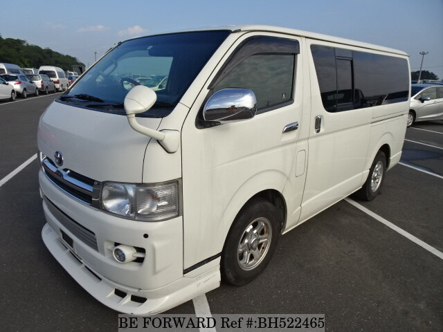 Used 2007 TOYOTA HIACE VAN BH522465 for Sale