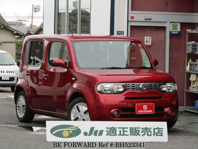 Used 2013 NISSAN CUBE BH523341 for Sale