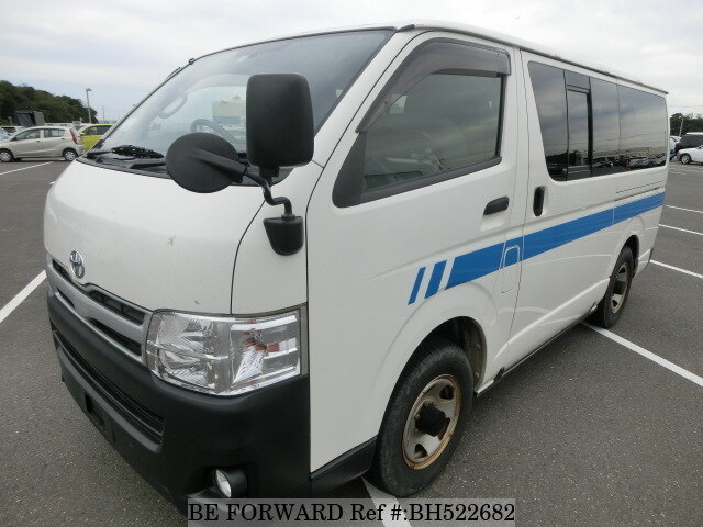 Used 2012 TOYOTA HIACE VAN BH522682 for Sale