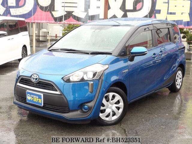 Used 2016 TOYOTA SIENTA BH523351 for Sale