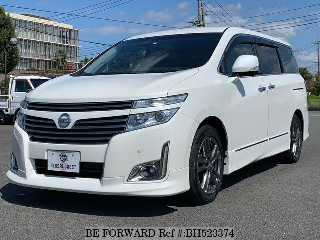 Used 2012 NISSAN ELGRAND BH523374 for Sale