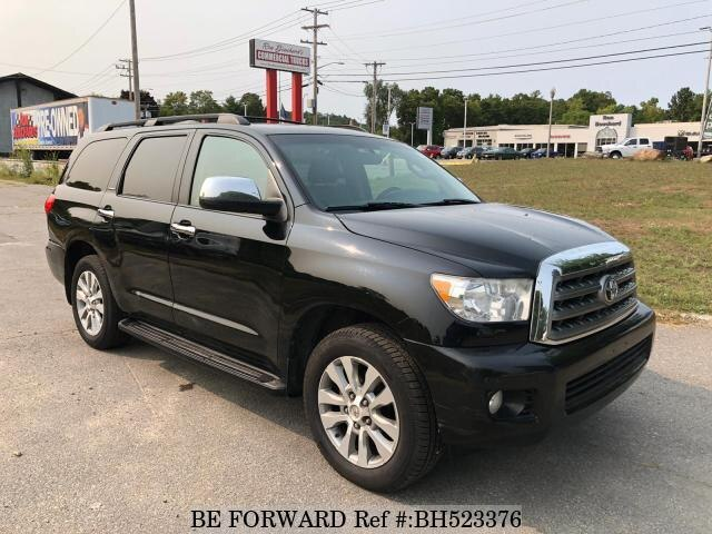 Used 2011 TOYOTA SEQUOIA BH523376 for Sale