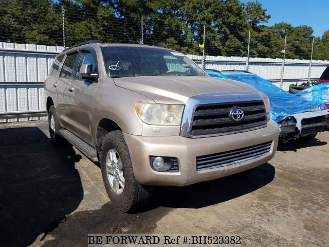 Used 2008 TOYOTA SEQUOIA BH523382 for Sale