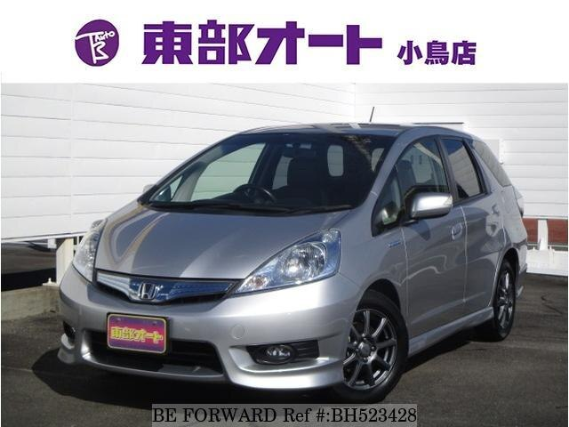 Used 2012 HONDA FIT SHUTTLE HYBRID BH523428 for Sale