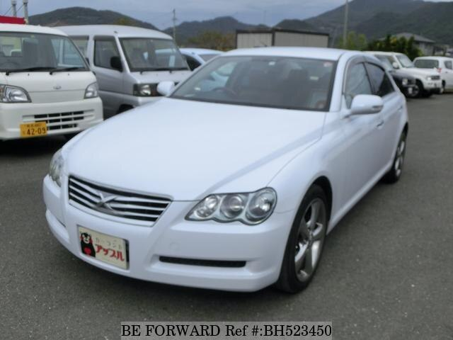 Used 2007 TOYOTA MARK X BH523450 for Sale