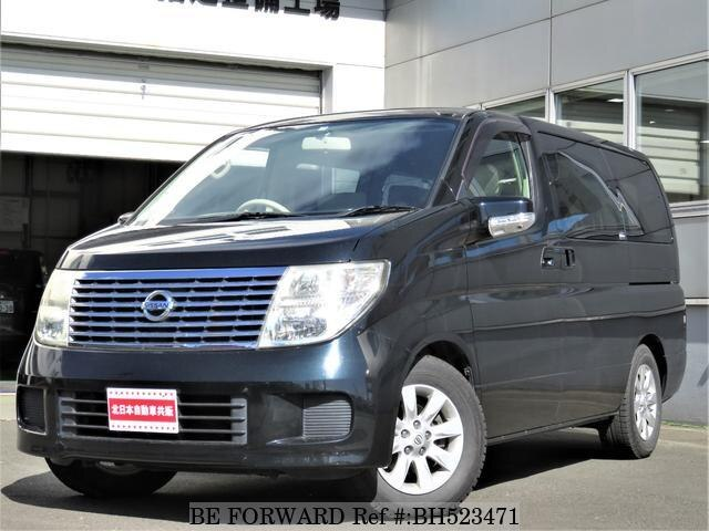 Used 2005 NISSAN ELGRAND BH523471 for Sale