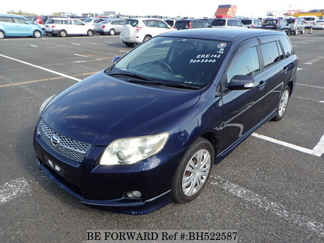 Used 2006 TOYOTA COROLLA FIELDER BH522587 for Sale