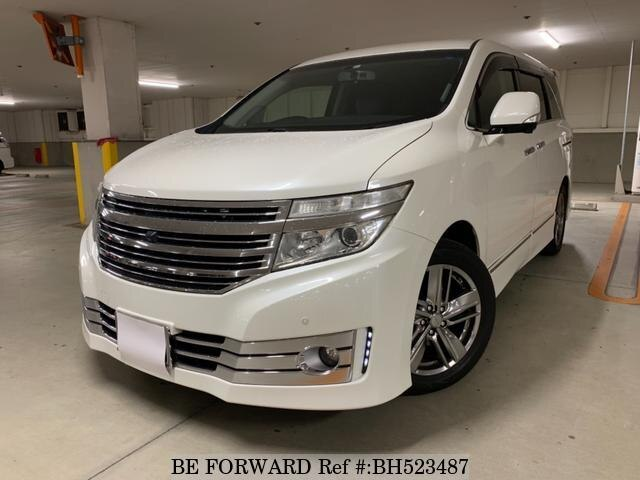 Used 2010 NISSAN ELGRAND BH523487 for Sale
