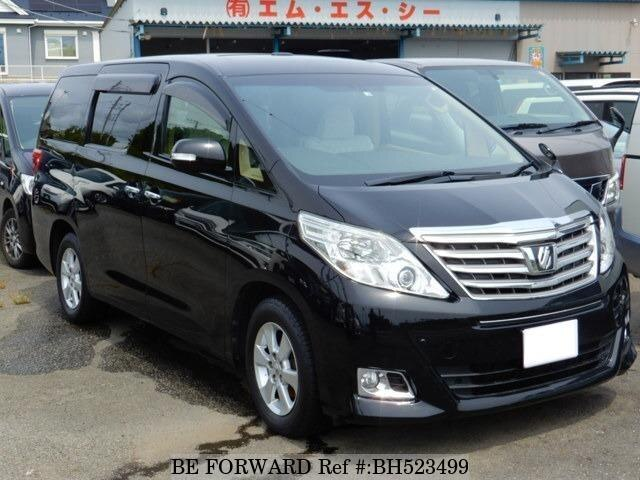 Used 2012 TOYOTA ALPHARD BH523499 for Sale