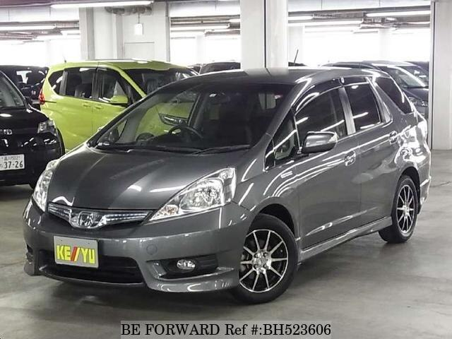 Used 2012 HONDA FIT SHUTTLE HYBRID BH523606 for Sale