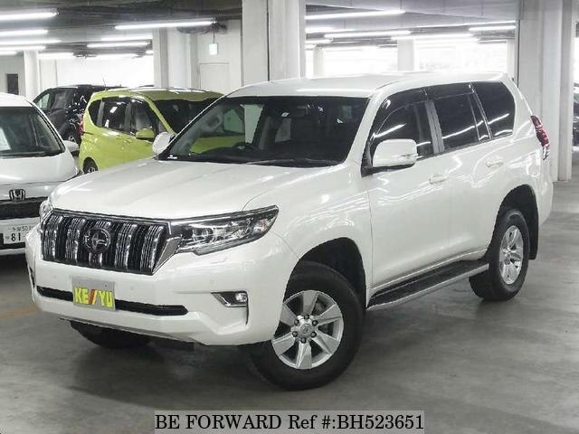 Used 2018 TOYOTA LAND CRUISER PRADO BH523651 for Sale