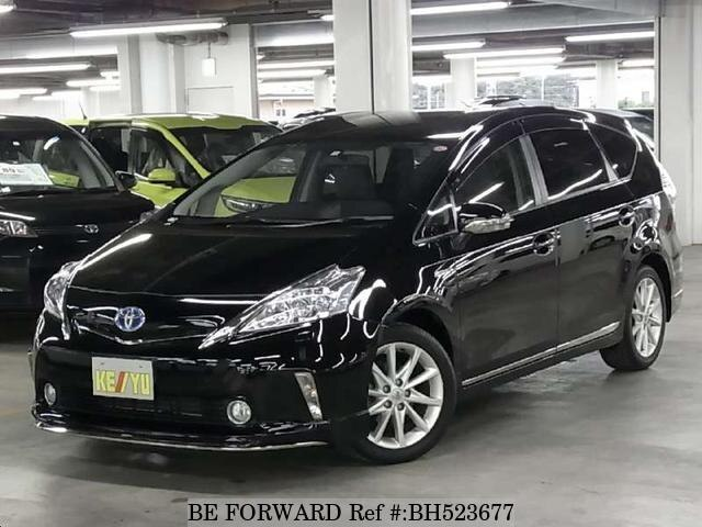 Used 2012 TOYOTA PRIUS ALPHA BH523677 for Sale