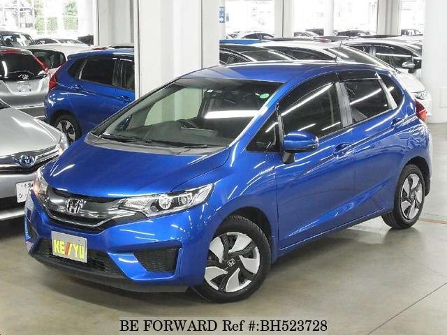 Used 2014 HONDA FIT HYBRID BH523728 for Sale