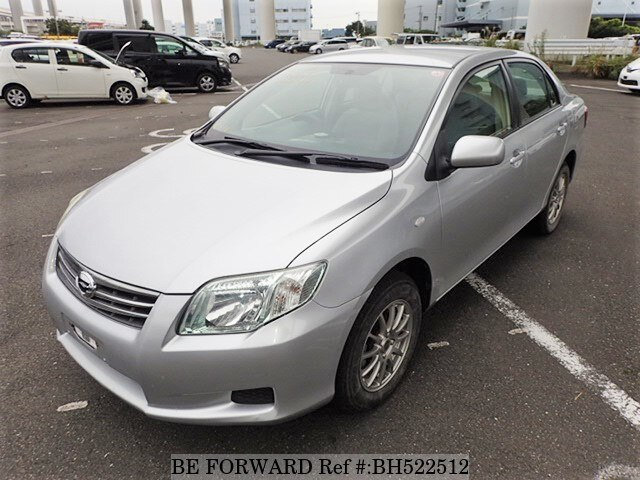 Used 2012 TOYOTA COROLLA AXIO BH522512 for Sale