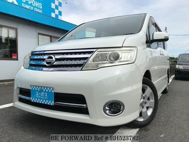 Used 2009 NISSAN SERENA BH523782 for Sale