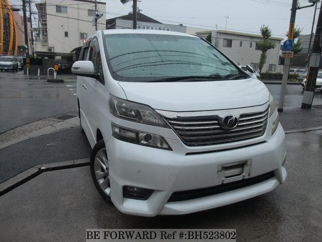 Used 2009 TOYOTA VELLFIRE BH523802 for Sale