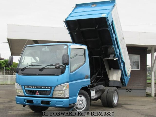Used 2002 MITSUBISHI CANTER BH523830 for Sale