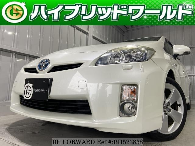 Used 2010 TOYOTA PRIUS BH523858 for Sale