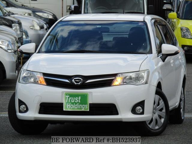 Used 2012 TOYOTA COROLLA FIELDER BH523937 for Sale