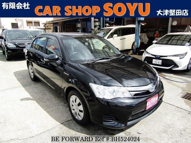 Used 2014 TOYOTA COROLLA AXIO BH524024 for Sale