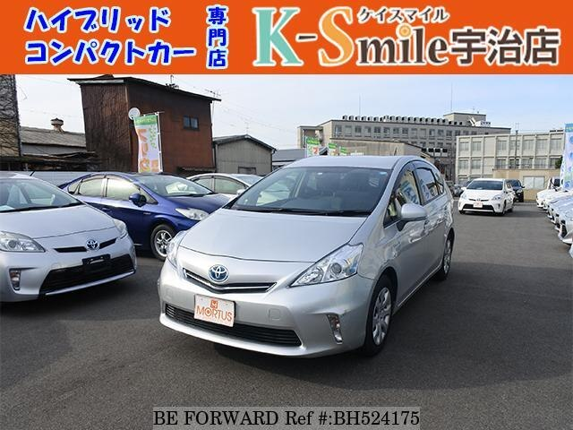 Used 2013 TOYOTA PRIUS ALPHA BH524175 for Sale