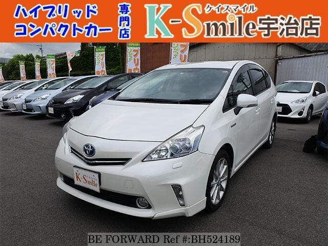 Used 2013 TOYOTA PRIUS ALPHA BH524189 for Sale