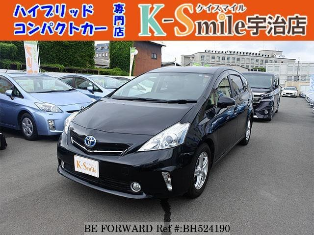 Used 2012 TOYOTA PRIUS ALPHA BH524190 for Sale