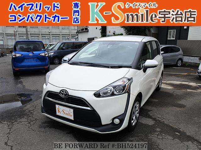 Used 2016 TOYOTA SIENTA BH524197 for Sale